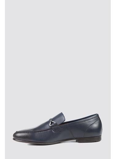 D'S Damat Klasik Ayakkabı Lacivert